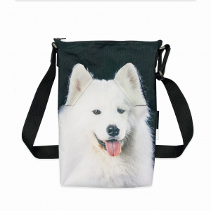 Torba minishopper z psem - Samoyed